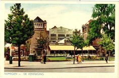Nijmegen De Vereeniging old postcard ansichtkaart AK pc CPA