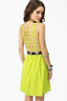 Just bought a dress like this just need a bra to go with it..
