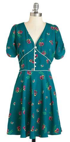 One, Two, Tea Dress