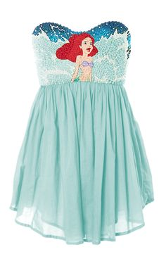 The Little Mermaid dress! OMG.