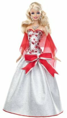 Barbie has had many occupations and played many roles over the years.Have fun to decorate a tree with Barbie Christmas ornaments . Barbie Dress, Barbie Clothes, Barbie Barbie, Christmas Barbie, Barbie Birthday, Vintage Barbie Dolls, Barbie Collector, Holiday Dresses, Fashion Dolls