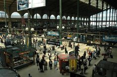 'Gare du Nord' Train Station | Eurostar trainstation