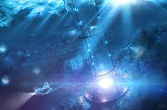 underwater world, Mateusz Szulik on ArtStation at http://www.artstation.com/artwork/underwater-world