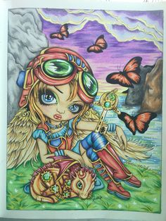 Jasmine Becket-Griffith| Colored by Marielle Nilsson