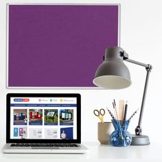 Grasmere Notice Board with Aluminium Frame - Noticeboards Online - Buy Notice Boards And Whiteboards Online
