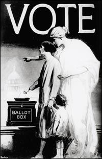 A poster sponsored by the League of Women Voters depicts Liberty urging a woman exercise her right to vote. (Library of Congress) Voters Day, Green Library, Women Right To Vote, Poster Drawing, Library Of Congress, Fit Women, Liberty, Exercise, Shit Happens