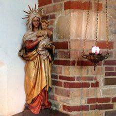 In the church of Julian of Norwich