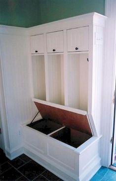 78 DIY Entryway Mudroom Bench Makeover Ideas