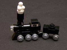 I like the coal car & need to figure out the engine pieces.  Micro Train | Flickr - Hans Dendauw