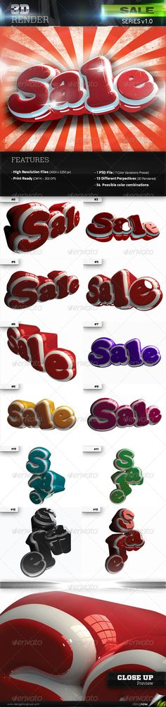3D Rendered Sale Text with glossy refletions. Great for sales, promotions, stock off, shops, and other related themes. It comes