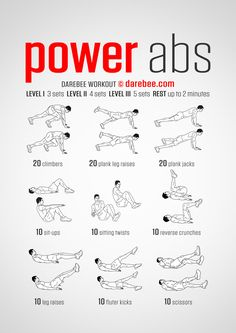 Power Abs Workout