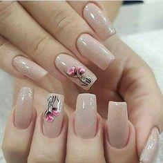 25 Trending Light Nails Color for Fall Winter Mint Nails, Beige Nails, Pink Nail Colors, Pink Nail Art, Color Nails, Violet Nails, Rose Gold Nails, Dot Nail Art, Polka Dot Nails