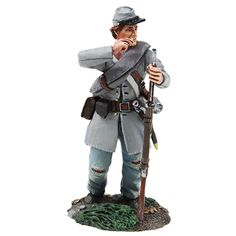W Britain Confederate Infantry Charging No.3