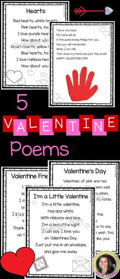 5 valentines day poems for kids