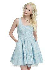 Disney Alice Through The Looking Glass Alice Tea Party Dress,