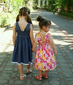 Olha que vestidos lindos para crianças