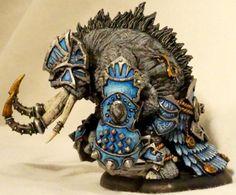 Bronzeback Titan, Heavy Warbeast, Hordes, Skorne, Titan