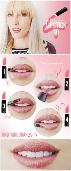thebeautydepartment.com lipstick 101 beauty basic