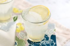 Classic Gin Fizz Cocktail Recipe from www.inspiredtaste.net #cocktail