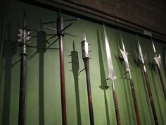 https://flic.kr/p/5sfVrA | Tower of London | Various pole weapons