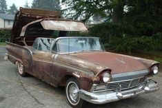 1957 Ford Fairlane 500 Skyliner Project