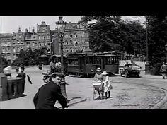 1920: Het verkeer in de Amsterdam, een verkeersfilm van de ANWB - oude filmbeelden - YouTube
