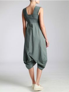DROP CROTCH JUMPSUIT COMBINED WITH JERSEY - JACKETS, JUMPSUITS, DRESSES, TROUSERS, SKIRTS, JERSEY, KNITWEAR, ACCESORIES - Woman -