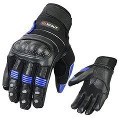 MORPH Racing White Blue LARGE gloves cycling mountain bike mtb moto bmx