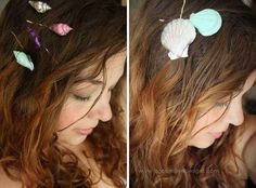 Seashell Hair Clips | 11 Amazing Things You Can Make From Your Trip To The Beach