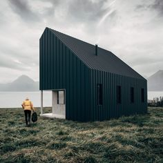 The Backcountry Hut Company by Leckie Studio Architecture + Design. Flat-packed cabin concept allows tiny houses to be assembled like IKEA furniture