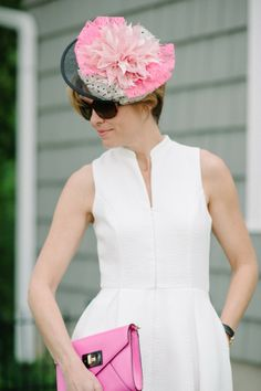 Lou What Wear | Kentucky Derby style | Black and White Derby Style
