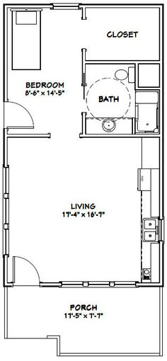 1000 images about tiny house on pinterest tiny house for 576 sq ft floor plan