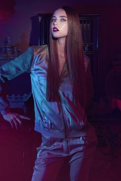 POPcph | campaign inspired by 'Only God Forgives'  | silk bomer jacket & trousers  | preview Spring '14 collection at www.popcph.com