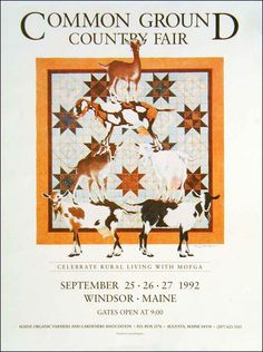 Maine Organic Farmers and Gardeners Association > The Fair > Poster > 1992