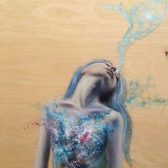 Watercolor Tattoo, Elsa, Disney Characters, Fictional Characters, Disney Princess, Tattoos, Painting, Art, Art Background