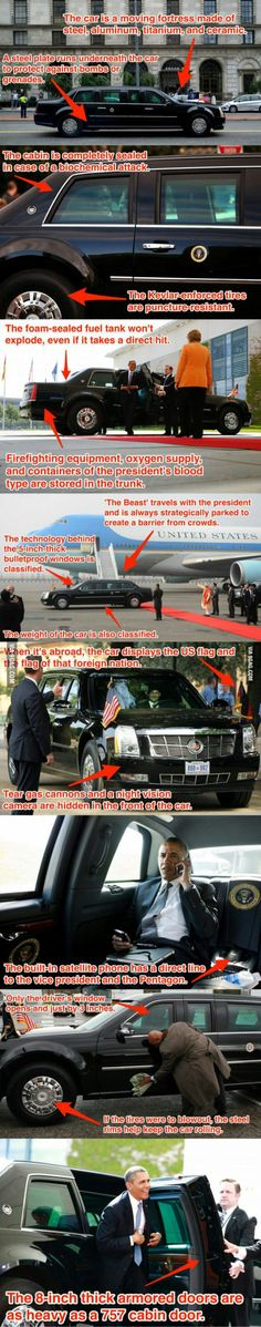 To the guy who posted about the the president car door (btw waiting lots of upvotes)