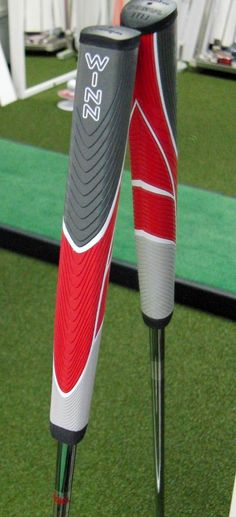 "May 9, 2013: ‏""The Winn Jumbo-Lite Putter grip is becoming a favourite in the Raa Studio,"" British puttermaker Raa Putters (@Raaputters) reported."