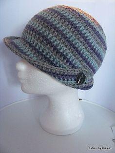 Free Crochet Pattern by Pukado - Robin Hat