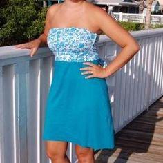 Strapless Summer Dress - free sewing patterns - Dress Patterns