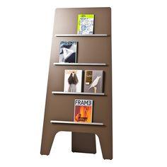 Leaf Magazine Stand Installation Photo
