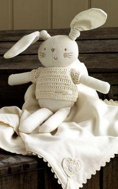 Natures Purest organic Bunny + Blanket