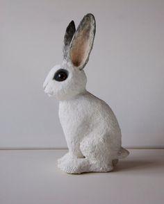 Juliette a handmade paper clay papier mache by albertinebelle