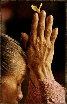 """'We are not human beings having a spiritual experience; we are spiritual beings having a human experience.' ~ Pierre Teilhard de Chardin """"I have always loved this passage. We Are The World, People Of The World, Buddha, Religion, Mudras, Praying Hands, Zen Meditation, Power Of Prayer, Belle Photo"""
