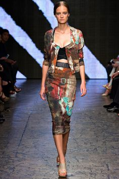 Donna Karan, New York Fashion Week, Frühjahr-/Sommermode 2015 Donna Karan, High End Fashion, Love Fashion, Fashion Show, Fashion Design, Couture Mode, Couture Fashion, Spring Summer 2015, Spring Summer Fashion