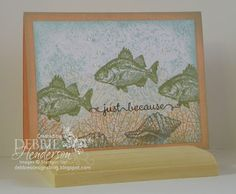 Stampin' Up! By The Tide & A Dozen Thoughts. Debbie Henderson, Debbie's Designs.