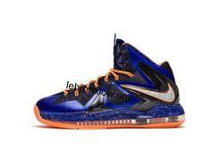 watch 10a6e 624b6 Wholesale Cheap Superhero Nike LeBron X PS Elite Hyper Blue Pure Platinum-Blackened  Blue-Bright Citrus Basketball Shoes Shop