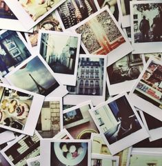 Image result for piles of polaroid