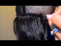 U PART WIG MAKING TUTORIAL (DETAILED)