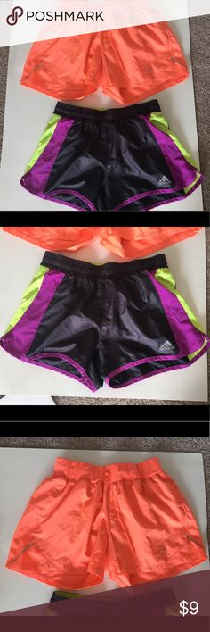 Adidas Running Shorts Adidas Running Shorts and Champion Shorts. Selling together adidas Shorts
