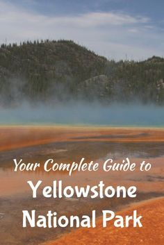 Check out this full guide to Yellowstone National Park. Great hikes and all the best spots you can't miss!
